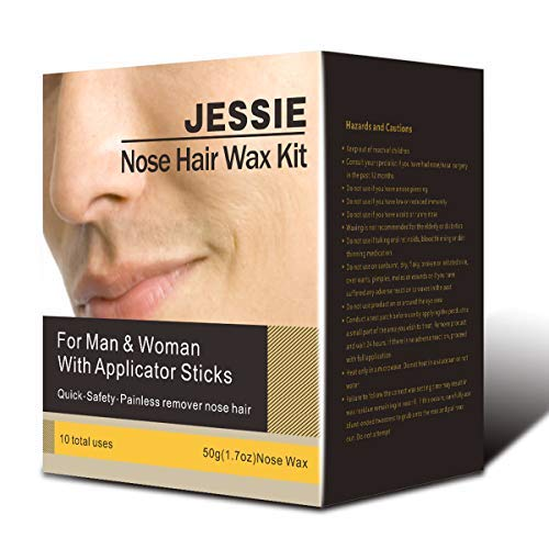 31 Pcs Nose Wax Kit for Men and Women, Nose Hair