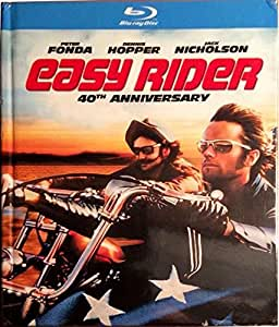 easy rider blu ray book 40th anniversary movies tv. Black Bedroom Furniture Sets. Home Design Ideas