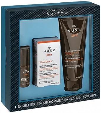 Nuxe Men Excellence 2016 - Estuche de productos Nuxe para hombre: Amazon.es: Ropa y accesorios