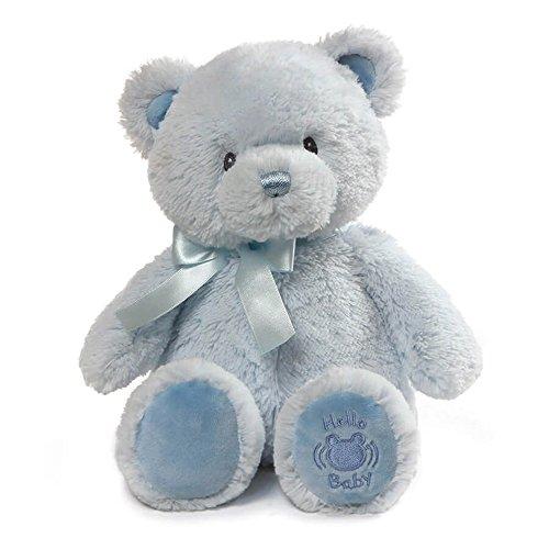 (Baby GUND My First Teddy Sound Toy Stuffed Animal Plush, Blue, 10