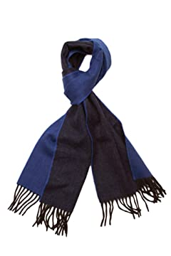 Wool Angora Scarf ALLAA 18751: Blue