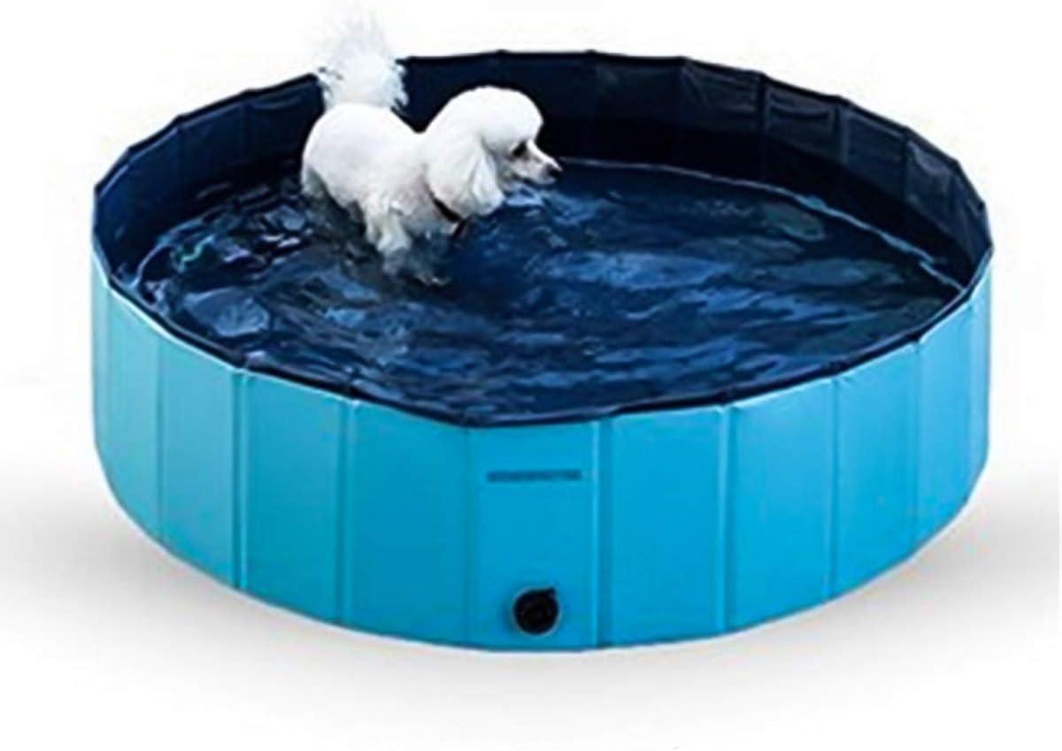 Ruiqas Piscina para Perros Plegable Baño para Mascotas Bañera para ...