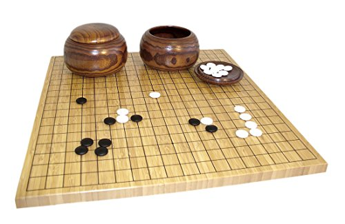 Bamboo Go Set Board Game by Worldwise Imports