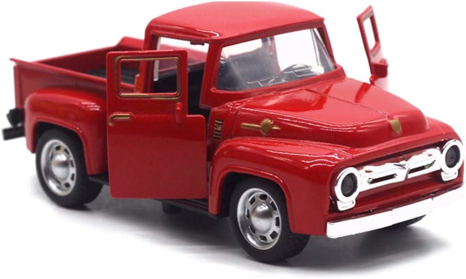 Stylelove Vintage Hecho a Mano Coche de hojalata camión de Metal Adorno de Navidad niños decoración de Mesa de Juguete
