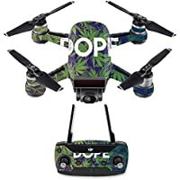 Skin for DJI Spark Mini Drone Combo - Dope| MightySkins Protective, Durable, and Unique Vinyl Decal wrap cover | Easy To Apply, Remove, and Change Styles | Made in the USA