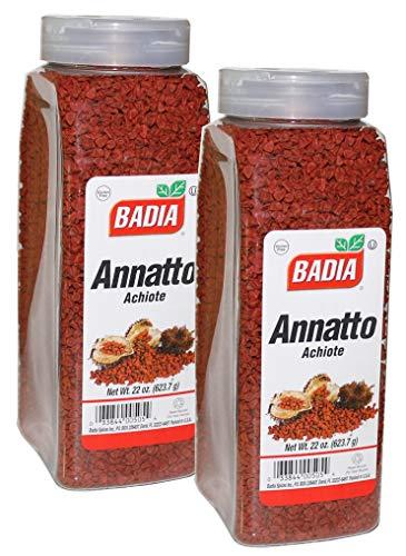 2 PACK -Whole Annatto Seed Anatto anato/Achiote entero Kosher 2x22 oz