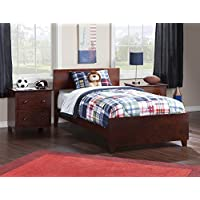 Atlantic Furniture AR8116031 Orlando Bed Solid Hardwood, Twin XL