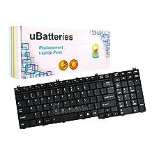 UBatteries Laptop Keyboard Toshiba Satellite L500-00G