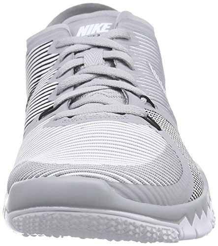 Nike Free Trainer 3.0 V4 - Zapatillas para hombre Gris / Blanco (Wolf Grey / White-Black)