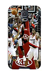 portland trail blazers nba basketball (20) NBA Sports & Colleges colorful Samsung Galaxy S5 cases
