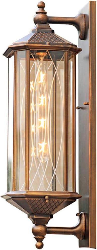 HZluxu ブラケットライト 照明器具 壁掛け 玄関ライト 装飾ライト アンティーク風 ブロンズ ランプ (色 : As picture)