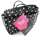 Periea Handbag Organiser Small (Black with White Hearts)