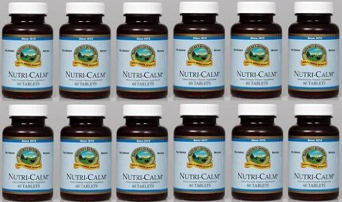 NUTRI-CALM, Stress Formula Vitamin Supplement (Pack of 12) 60 Tablets each ''FAST SHIPPING''
