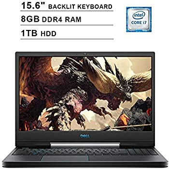 Amazon com: Dell G7 17 Gaming Laptop (Windows 10 Home, 9th