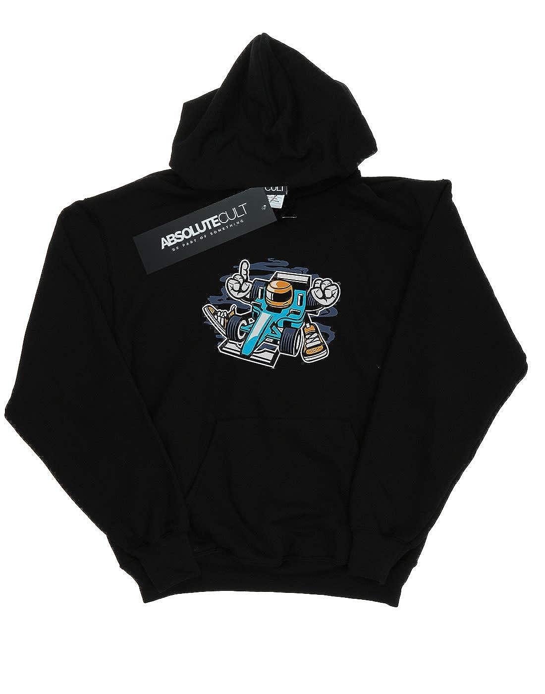 Drewbacca Girls Motor Racer Hoodie