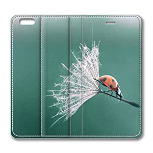 Insects Playing DIY Leather iphone 6 plus Case Perfect By Custom Service
