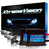 XtremeVision 35W HID Xenon Conversion Kit Premium Slim Ballast - H4 / 9003 3000K - Golden Yellow - 2 Year Warranty