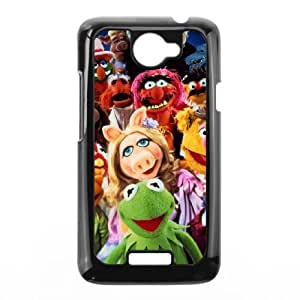 HTC One X Cell Phone Case Black MUPPETS KERMIT PIGGY FUN Yysw