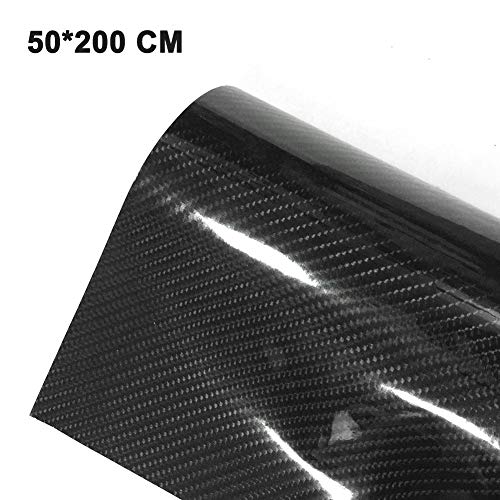 6D Carbon Fiber Sticker for Car Motorcycle Bicycle Computer Mobile Phone Furniture