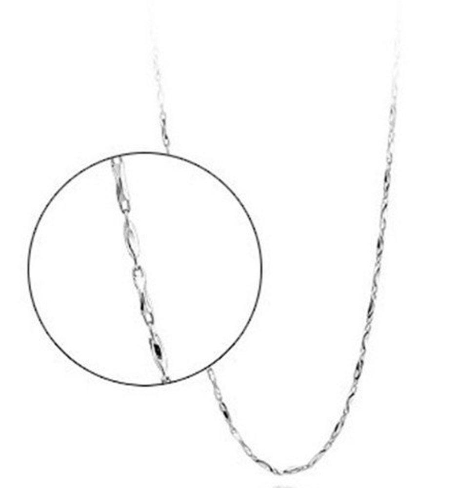 SaySure - 925 Sterling Silber Silber Silber Lucky Ingot Chain Necklace.Fine Jewelry B0171BZ6VS Zubehr & Gerte Einfach zu bedienen 338da2