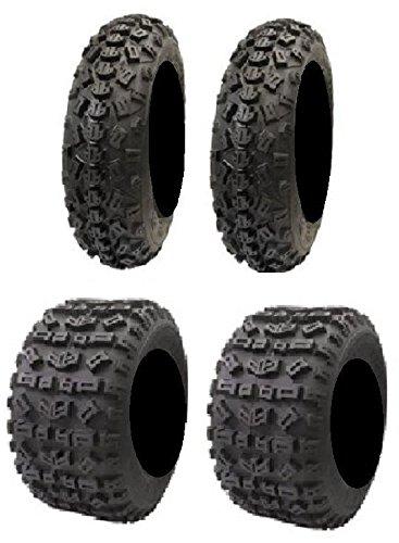 Full set of STI Tech 4 XC 22x7-10 and 22x11-9 ATV Tires (4)