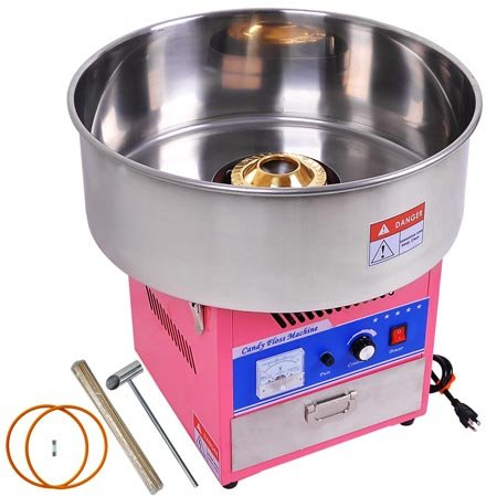 20'' Commercial Quality Carnival Style Cotton Candy Machine Maker Pink