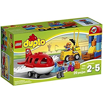 Amazon Com Lego Duplo Town 10592 Fire Truck Building Kit Toys Games