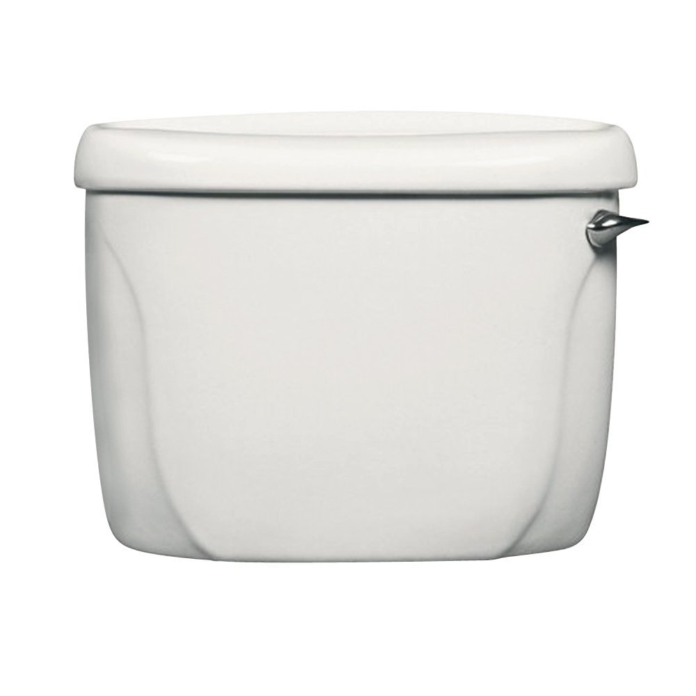 American Standard 4098.800.020 Cadet Pressure Assist Toilet Tank with Right-Hand Lever, White (Tank Only)