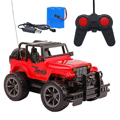 Naimo Off Road Jeep Wrangler Remote Control Car 1/24 Toy Car for Children