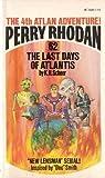 The Last Days of Atlantis (Perry Rhodan, No. 62)