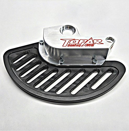Topar Racing KFD-100-212-P BETA FRONT BRAKE DISC GUARD KIT (UHMW FIN), 2010-2018 All Enduro, 2T, 4T, and RS 250-300cc Fits both MARZOCCHI and SACHS Forks.