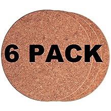 "Ikea Cork Trivet Heat 7""(Pack of 6)"