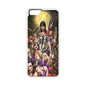 Alice in Wonderland Vampire Case Cover For Ipod Touch 4 Anti Fall Case Cover For Ipod Touch 4 {White}