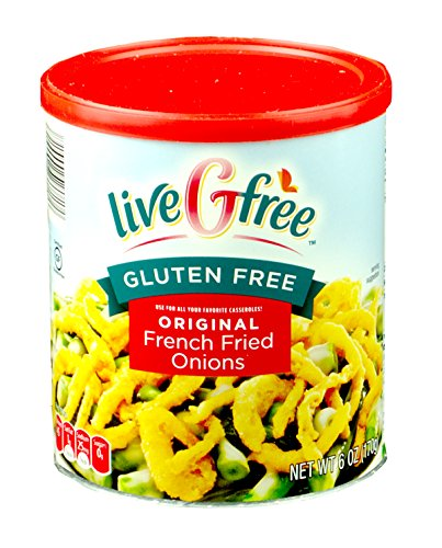 Live G Free Gluten Free French Fried Onions Original 6 Ounces (Pack of 2)