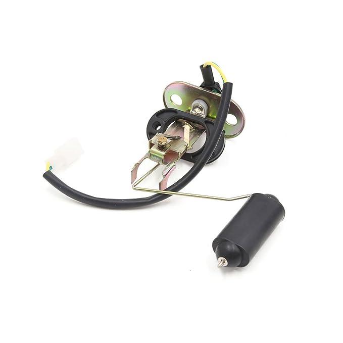 sourcing map Sensor Flotador Nivel Gasolina Depósito de Combustible para Moto Prince Edward: Amazon.es: Coche y moto