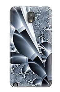 Galaxy Note 3 Case Slim [ultra Fit] Fractal Protective Case Cover