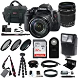 Canon EOS Rebel T6i DSLR Camera with EF-S 18-135mm f/3.5-5.6 IS STM lens + kit