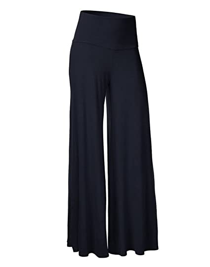 ZKOO Donne Yoga,Danza,Sport & Tempo Libero Larghi Pantaloni Comodi Larghi del Piedino Corno di Moda per