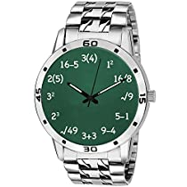 BigOwl Analogue Maths Stainless Steel Wrist Watch for Men