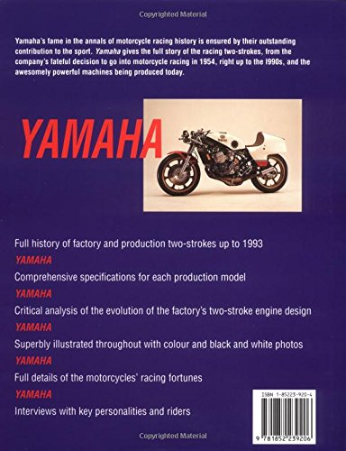 Yamaha: All Factory and Road-racing Two-strokes from 1955-93