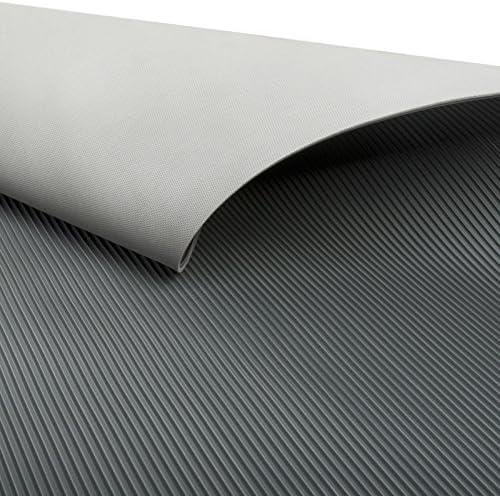 50 x 350 cm Miniripp Gummil/äufer in Grau Gummimatte Schutzmatte Noppenmatte Bodenmatte Noppen Premium gummimatten stall