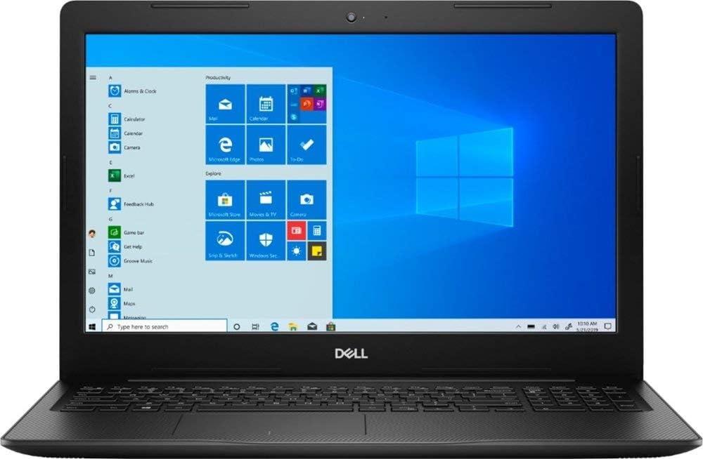 Dell Inspiron 3000 15.6-inch HD Touchscreen Laptop PC, Intel 10th Gen Dual Core i3-1005G1 Processor, 8GB DDR4, 128GB SSD, 1TB HDD, Bluetooth, Windows 10, Black (Renewed)