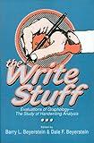 The Write Stuff