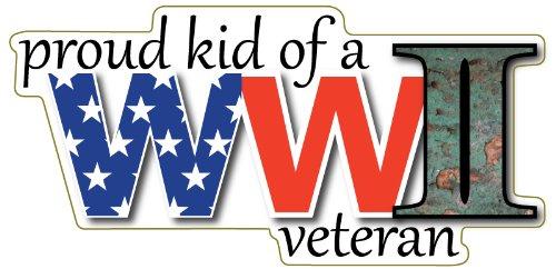 [Proud Kid of A WWII Veteran Magnet] (Ww2 Navy Uniforms)