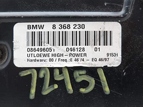 1999-2003 BMW 323 325 328 Amplifier 65128368230 OEM