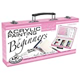Royal Brush and Langnickel Pink Art Acrylic Painting Artist Set For Beginners, Pink