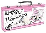ROYAL BRUSH PA-ACR3000 Royal Langnickel Pink Art Acrylic Painting Artist Set Beginners, Pink