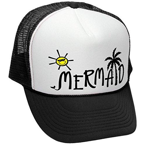 MERMAID BEACH OCEAN Unisex Trucker