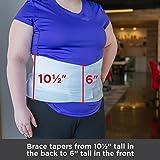 BraceAbility Plus Size 5XL Bariatric Back Brace