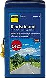 ADAC StraßenKarten Kartenset Deutschland 2016/2017 1:200.000: 20 Detailkarten auf 10 Doppelblättern (ADAC AutoKarten Deutschland 1:200 000)